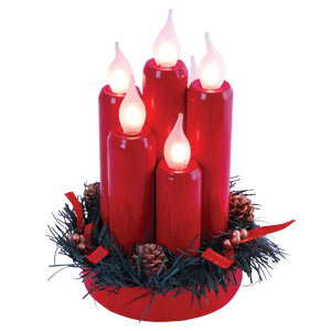 Lucia Cluster Christmas Candle Lights