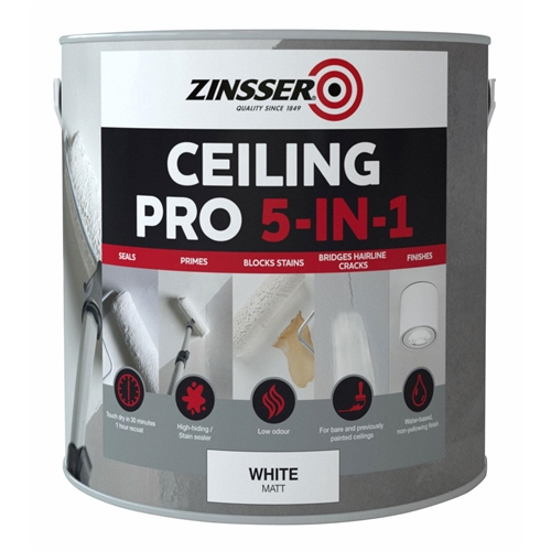 Zinsser Ceiling Pro 5 in 1 Paint