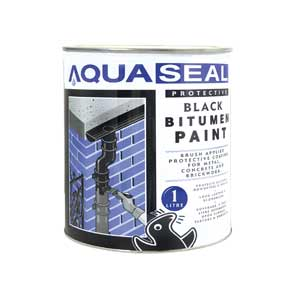 Geocel Protective Black Bitumen Paint Assorted Sizes
