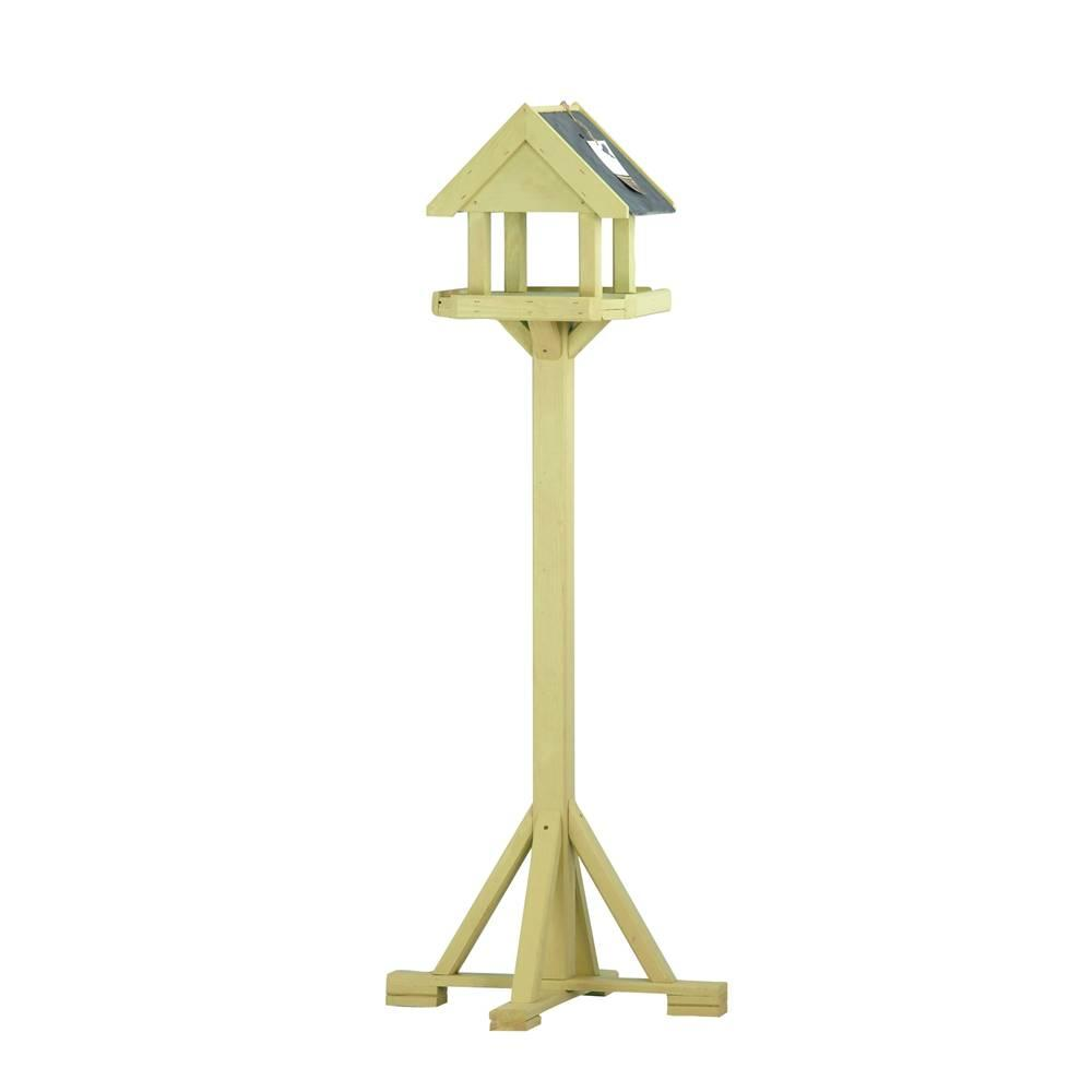 Chapelwood Arley Bird Table with 2 Sided Slate Roof
