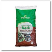 Decorative Bark Mulch Medium Chip 75L local delivery ONLY