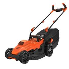 Black and Decker 34cm 1400W Mower with Ergonomic Handle Design