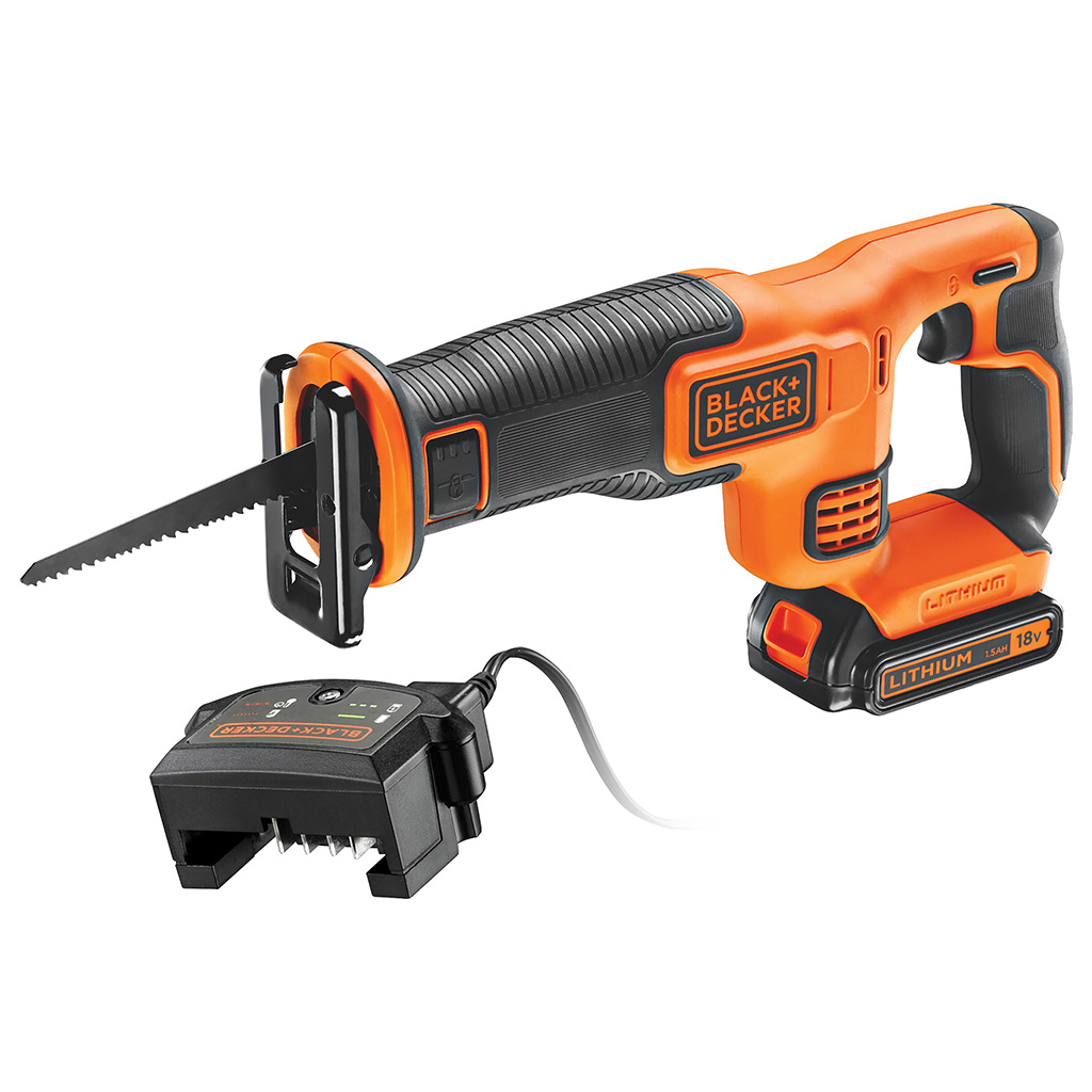 Black and Decker 18V Reciprocating  Saw and 400MA CHARGER