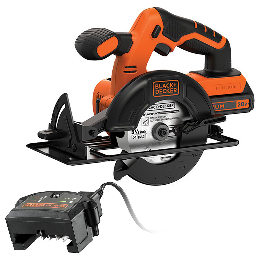 Black and Decker 18V Circular SAW  and 400MA CHARGER