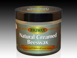 Briwax Natural Creamed Beewax 250ml