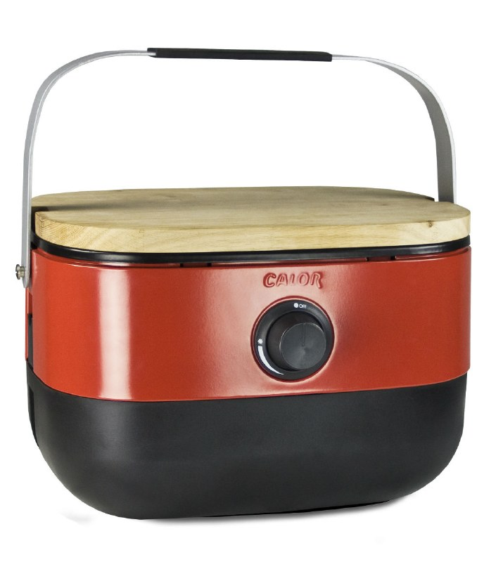 Calor Mini BBQ Red Barbeque with Regulator for mini Gas