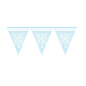 Communion Pennant Banner 12 inch - Bunting Style