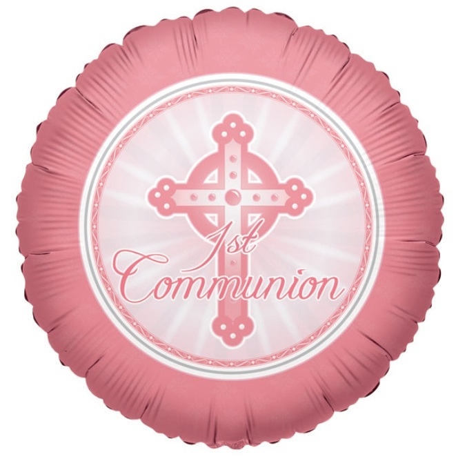 First Holy Communion Foil Balloon