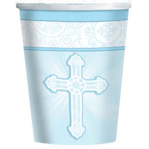 Communion Paper Cups with Cross
