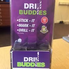 Drill Buddies Stick It mark It Drill It