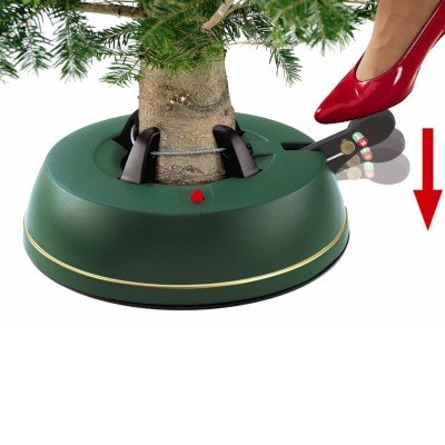 Easi Grip Christmas Tree Stand for up to 8ft Tree - Foot Operated
