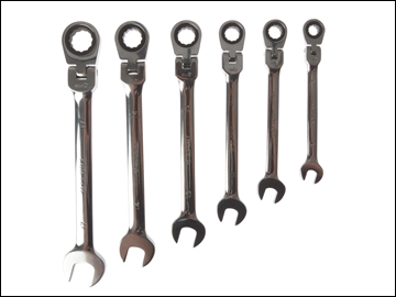 Faithful 6 Piece Flexi Head Ratchet Spanner Set FAISPARAT6S