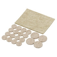 Felt Guard Furniture Protecting Pads Assorted Sizes