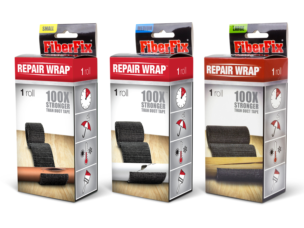Fiberfix Repair Wrap Fix All Tape