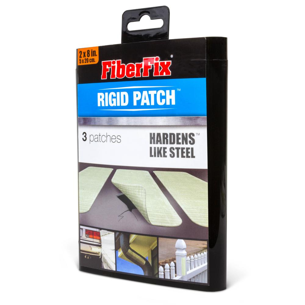Fiberfix Rigid Repair Patch Hardens Like Steel