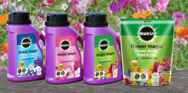 Miracle-Gro Flower Magic 1KG Assorted