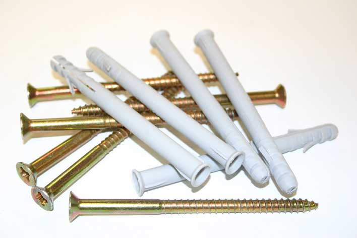 12 Pack of Frame Fixings and Screws