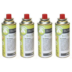 Portable Gas Stove Refills Single or 4 Pack