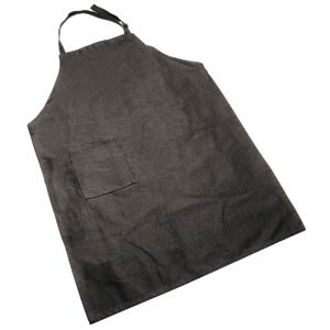 Grillpro Deluxe Black Cotton Chefs Apron