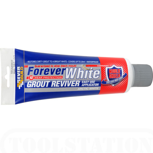Everbuild Forever White Grout Reviver -Arctic White 200ml
