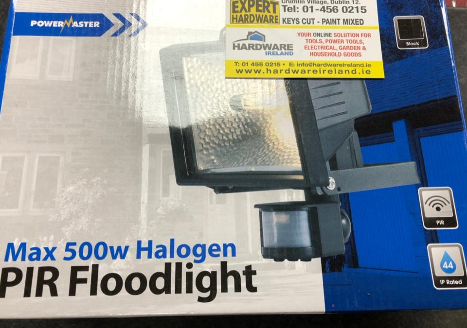 Halogen Sensor Light 300w or 500w