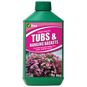 Vitax Liquid Feed for Hanging Baskets 1L