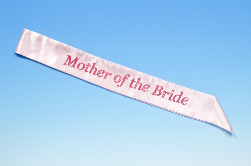 Hen Party Mother of the Bride Sash