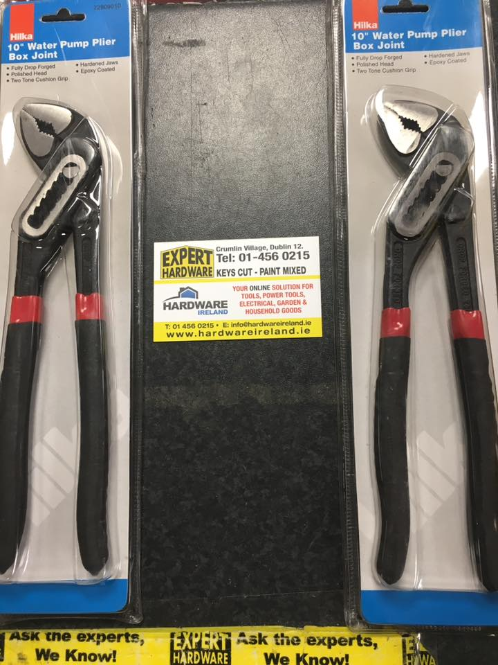 Hilka Water Pump Pliers Box Section