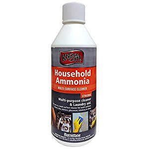 Household Ammonia 500ml Multi Surface Cleaner -Assorted Pack Sizes