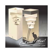 Luxa Shadow Lamp Cat and Mice