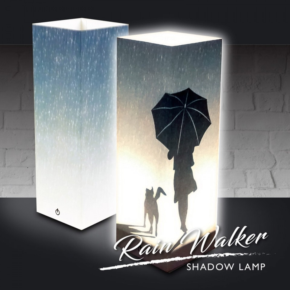 Luxa Shadow Lamp Rain Walker