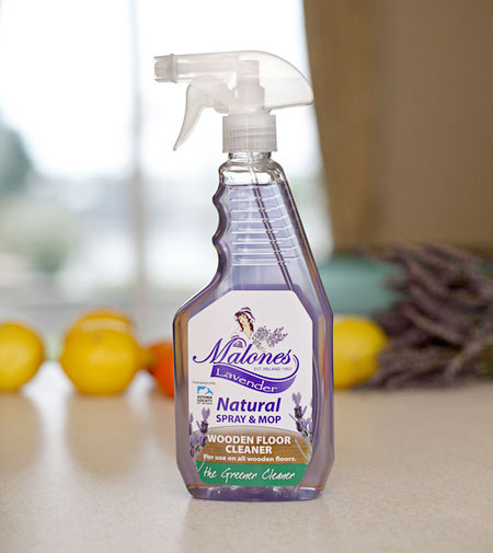 Malones Natural Spray and Mop Floor Cleaner -Lavender