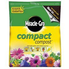 MIRACLE-GRO COMPACT COMPOST 3 LITRE
