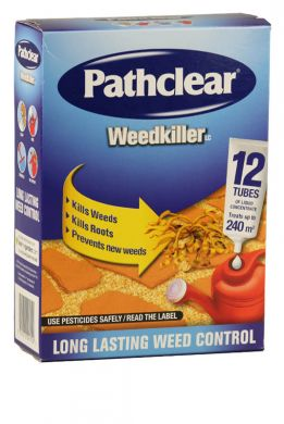 Pathclear Ultra Weedkiller Tubes