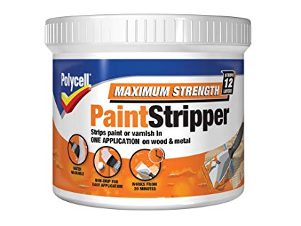PLCMSPS500 Polycell Maximum Strength Paint Stripper 500ml