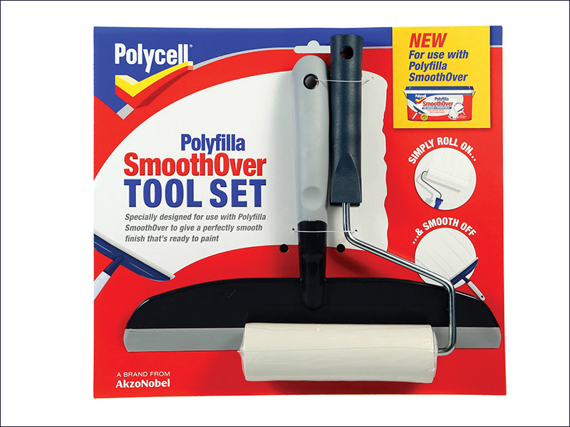 Polycell Smooth Over Tool Set PLCSOTS2
