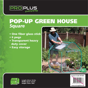 ProPlus Pop-up Green House Square