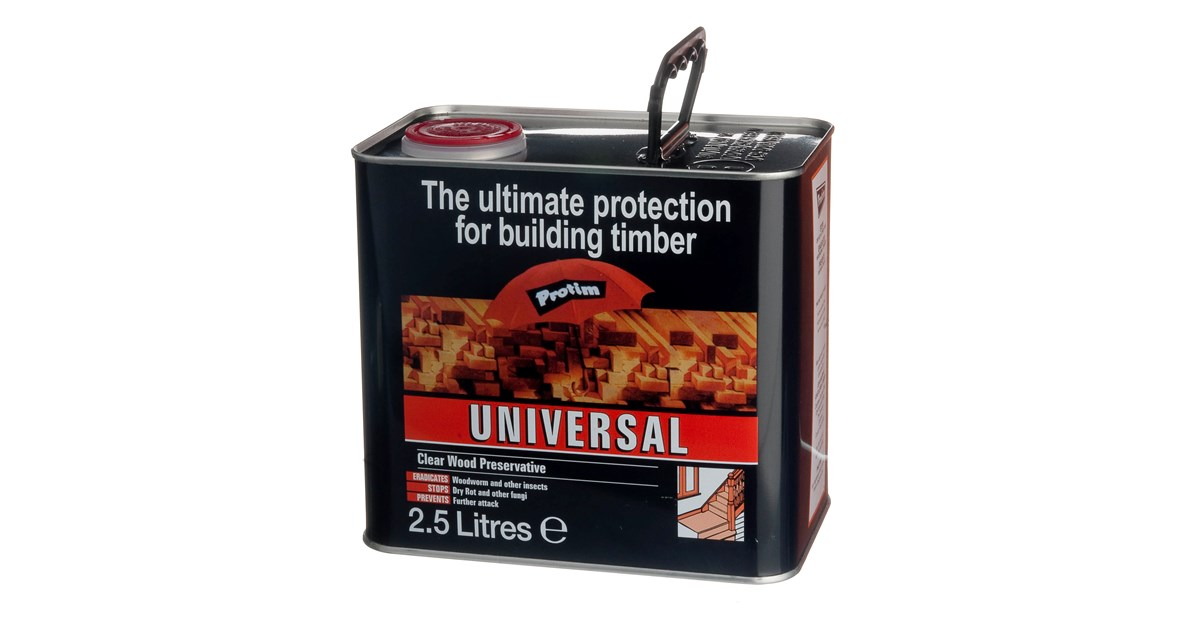 Protim Wood Preserver or Woodworm Killer Assorted Sizes