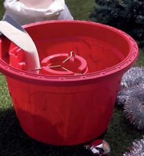 Decorative 42cm Christmas Tree Water Base Tub for Real Trees