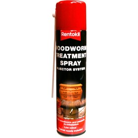 Rentokil Woodworm Treatment Aerosol Spray 300ml