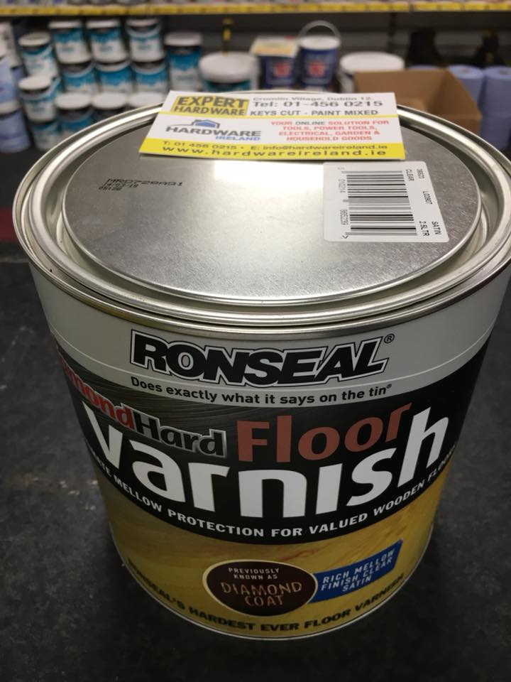 Ronseal Diamond Hard Floor Varnish