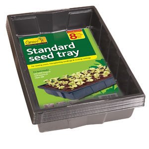 Gardman Standard Seed Trays Assorted Pack Sizes