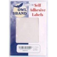 Owl Brand Self Adhesive Labels Disc ~ Assorted Sizes