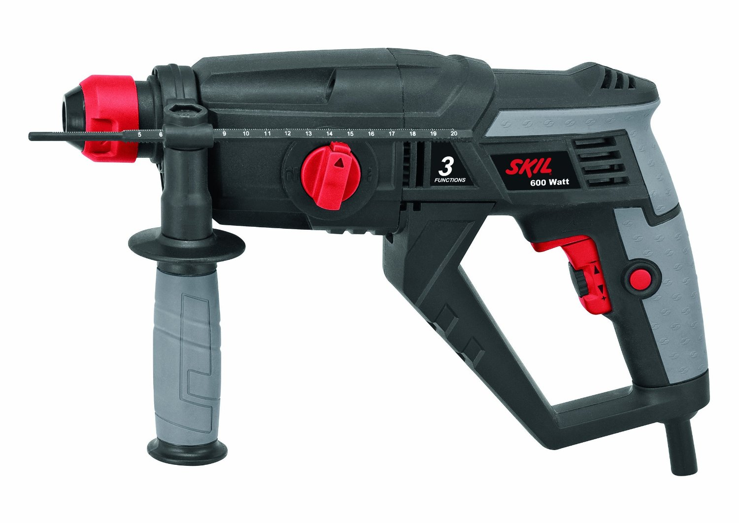 Skil 1743 600W 3-Function Corded SDS Hammer Drill