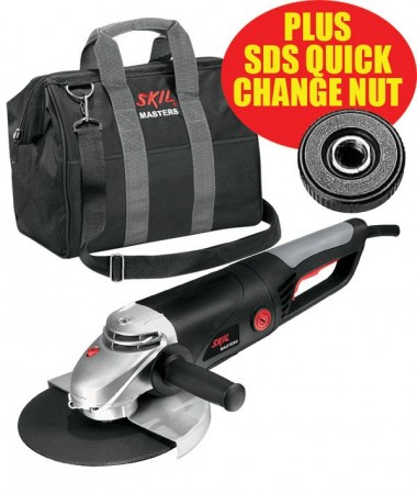 Skil Masters Angle Grinder 9781 240V MC with Carrier Bag