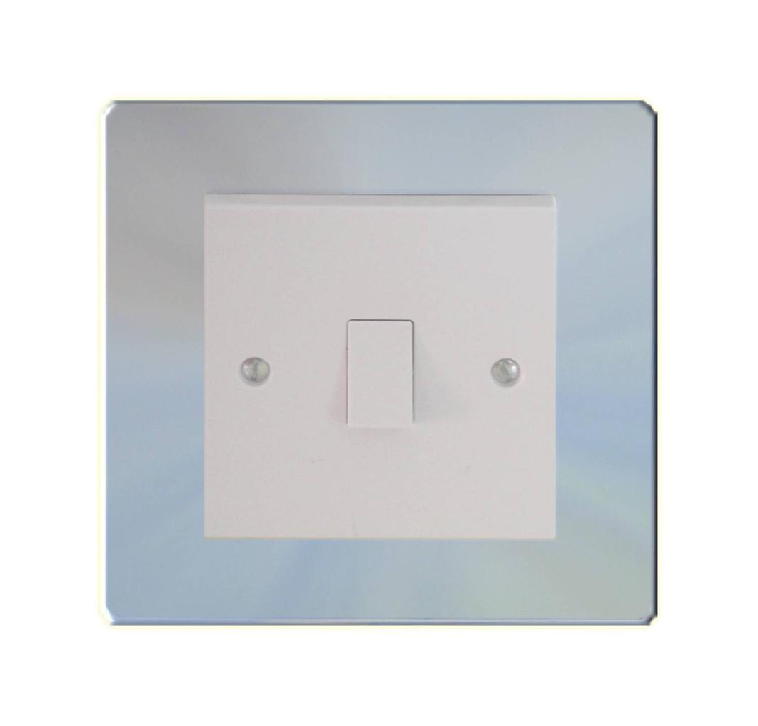 Dencon White Finger Plate for Sockets White or Clear
