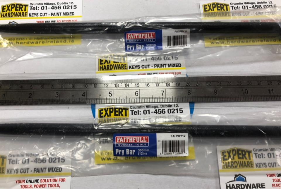 FIS112 F112ME Steel Rule 300mm - 12 inch Ruler