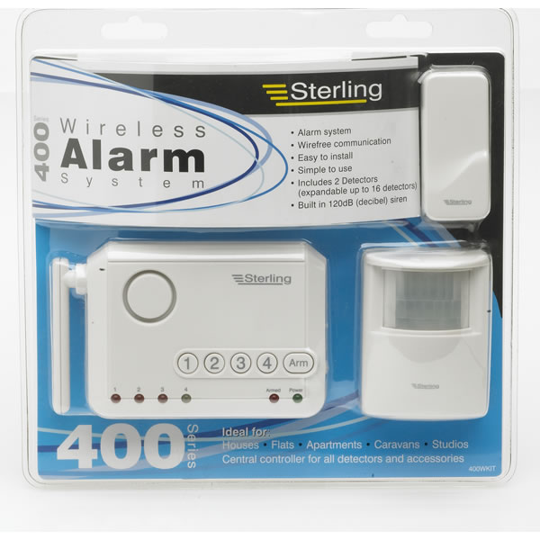 Sterling Alarm System Wireless Series 400