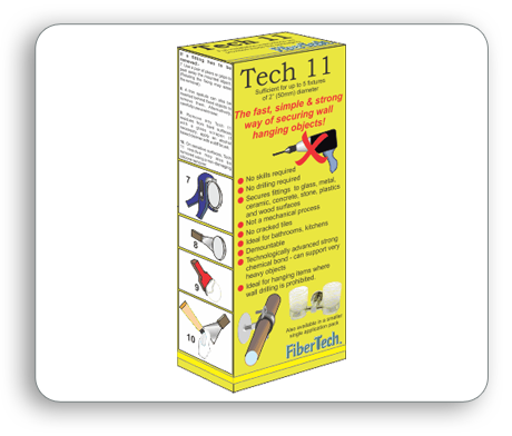 Fibretech Tech 11-Secures Hanging Objects