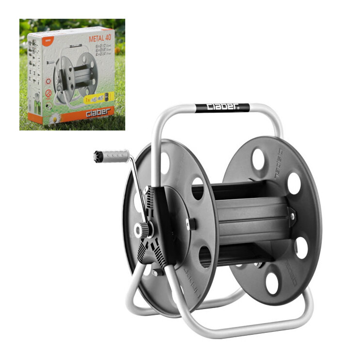 8890 WALL METAL HOSE REEL TO HOLD UP TO 80M HOSE